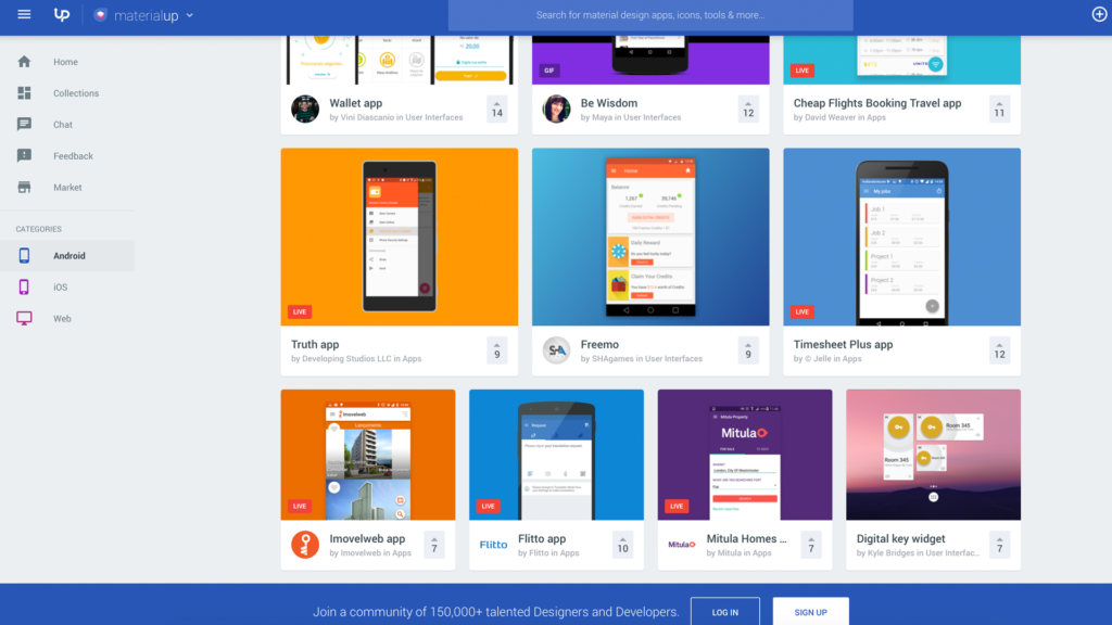 Material Design – The Best Free Resources and Inspiration