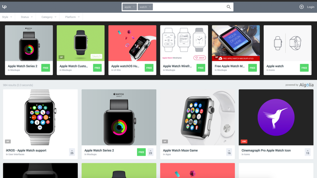 Apple Watch UI Design – The Best Free Resources