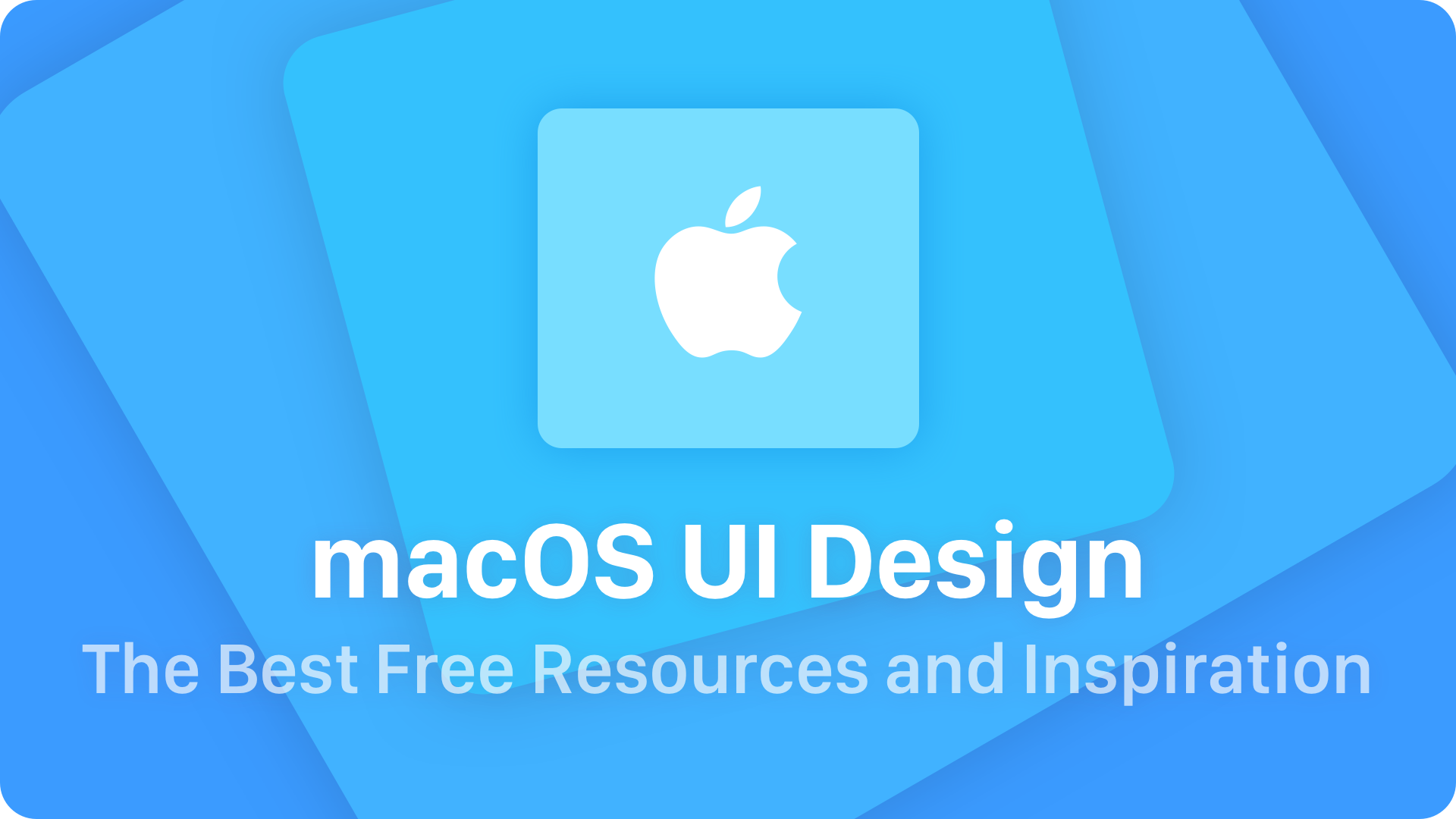 macOS UI Design – The Best Free Resources & Inspiration | UXMISFIT.COM