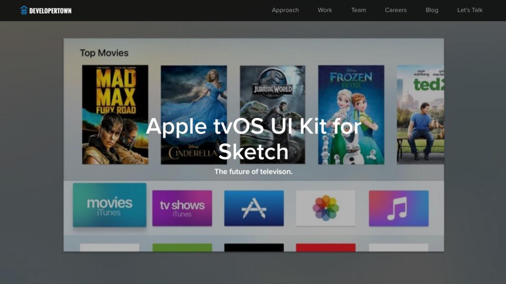 tvOS UI Design – The Best Free Resources & Inspiration