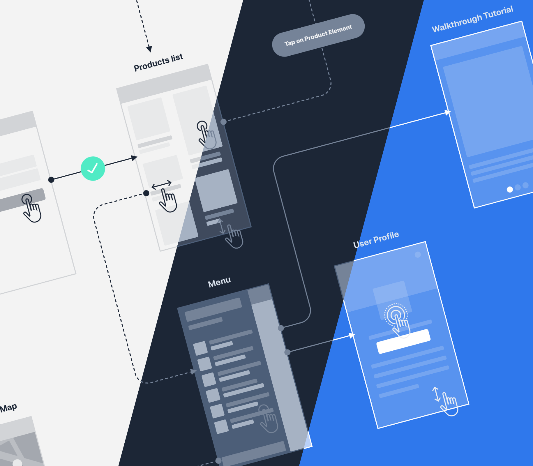 SQUID UI Flow Template - Design Beautiful User Flows faster