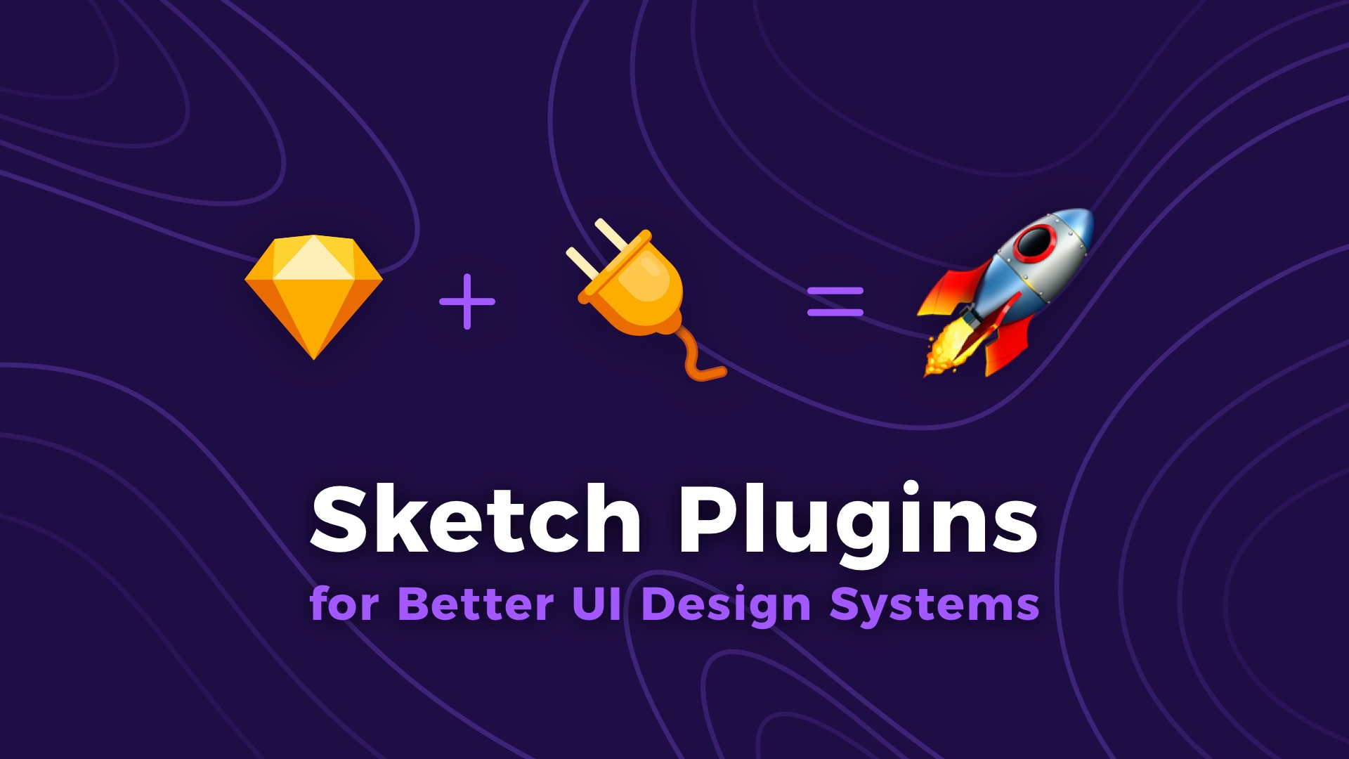 Use this Sketch Plugins to manage Design System UI Library