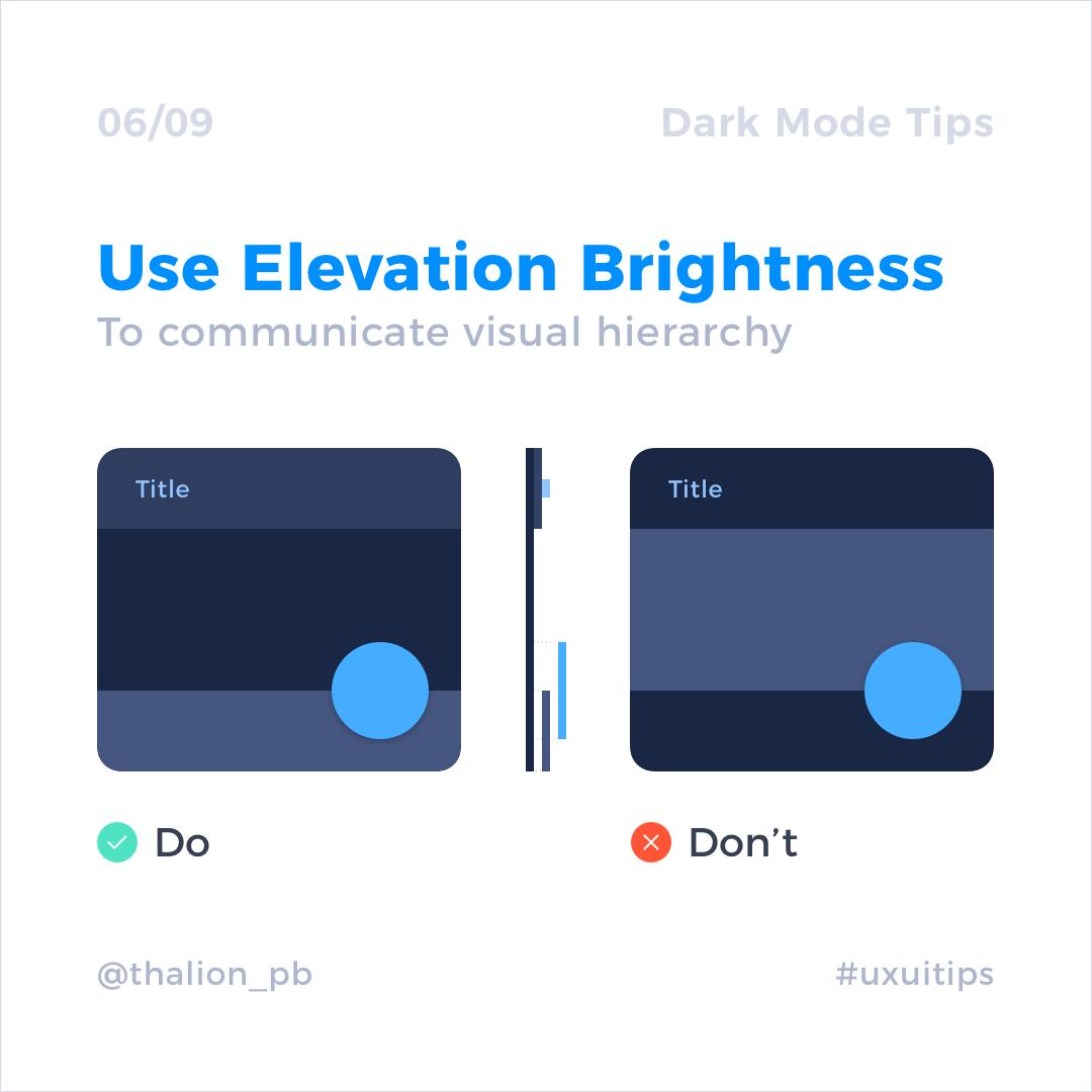 UI Design in Practice – Dark Mode | UXMISFIT COM