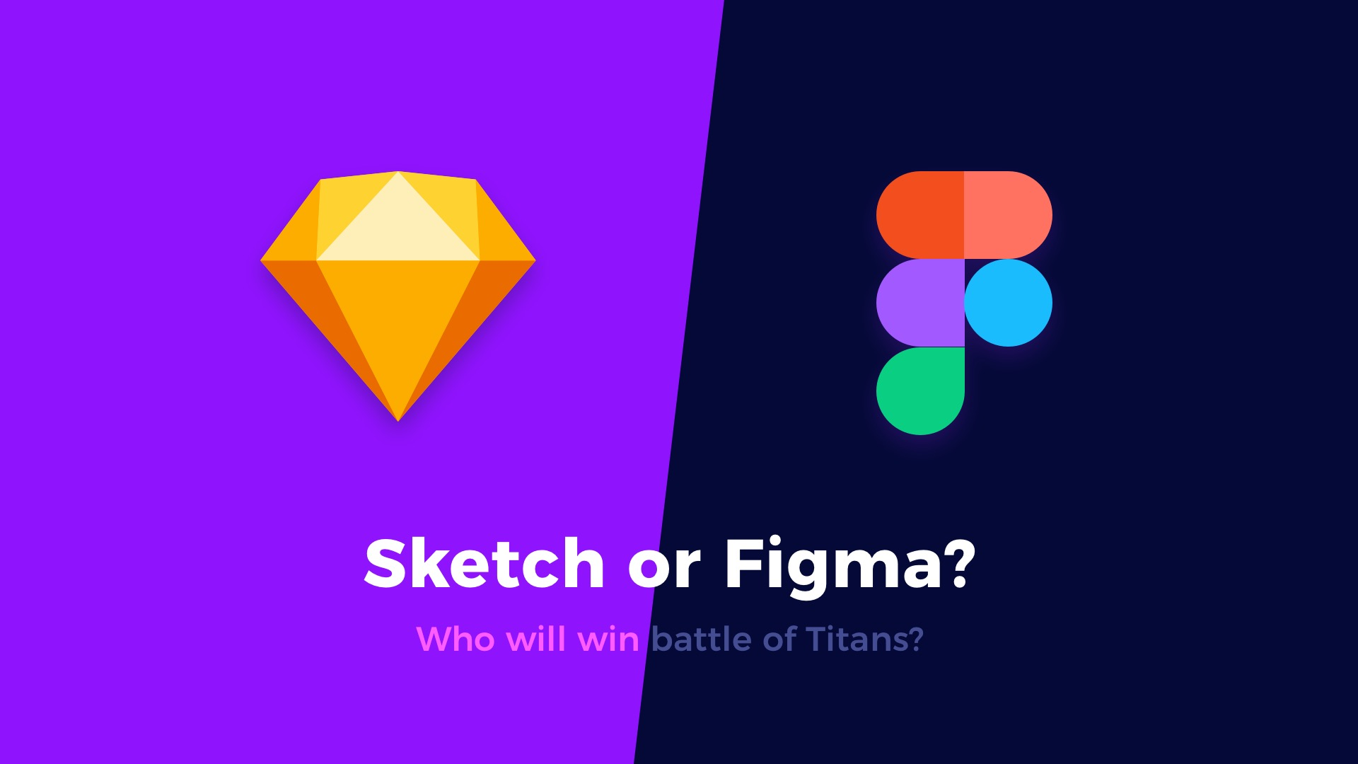 Figma vs  Sketch – Who will win the battle of the design tools
